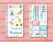 Little Deer Christmas Sticker Kit for Personal Sized Planners