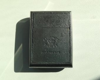 Rare *All Metal* Ransome's Patent De La Rue Travel Inkwell