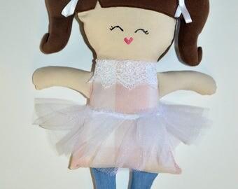 READY TO SHIP Handmade Doll - Beulah