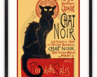 Chat Noir - Vintage Art Poster