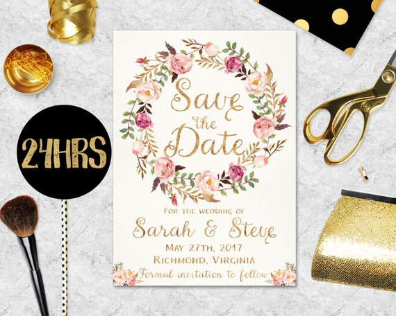 Save the date templates in Sydney