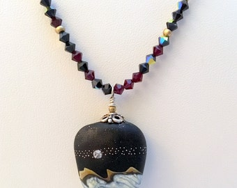 STARRY, STARRY NIGHT Necklace (Handcrafted)