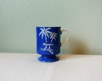 70s Nassau, Bahamas Pedestal Mug