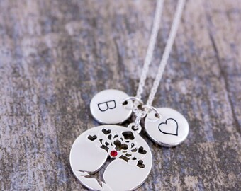Mothers gifttree of life necklace tree of life pendant tree of life pendant family tree necklace tree of life mozeypictures Image collections