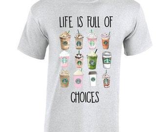 Starbucks inspired tee