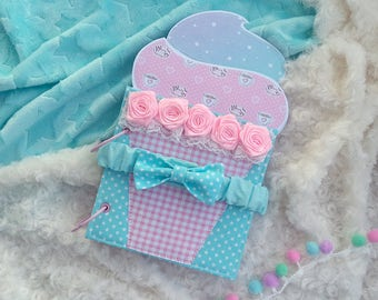 Baby Girl Mini Album, Instagram Baby Album, Capcake Memory Book, Sweet cake, Sweet Girl