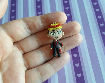 Christophe Giacometti Polymer Clay Charm