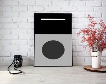 Nordic Poster, Nordic Art Print, Nordic Art, Nordic wall art, Nordic office decor, Nordic wall decor, Printable Nordic Art, Download