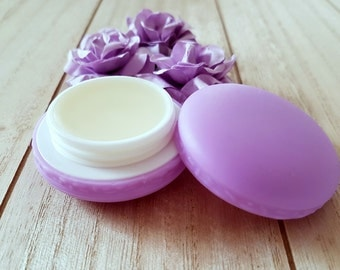 Lip balm in Macaron/large with apricot kernel oil