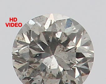 2.20 MM 0.042 Ct Natural Loose Diamond Round Shape Fancy White Color N2689