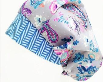 Passion Flower Bouffant Scrub Hat, Scrub Cap, OR Hats, Scrub Hats for Women, ORHatsByBonita, Surgical Scrub Hat. Surgical Scrub Cap