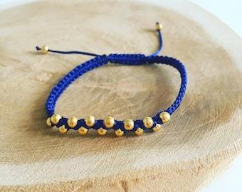 "Shamballa ""Small Golden Pearl"" bracelet"