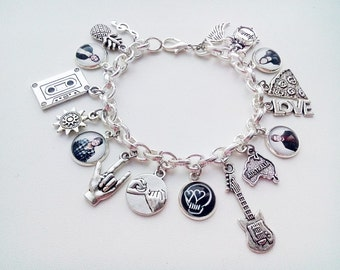 5 seconds of summer sharm bracelet - 5 sos jewelry