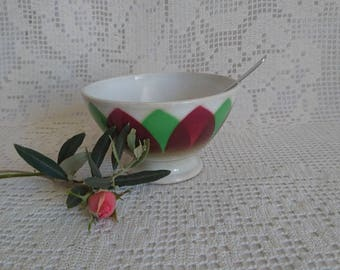 Old porcelain bowl, 20 years. K and G LUNEVILLE - FRANCE