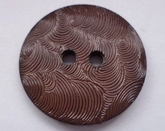 16 Brown buttons 18mm (3266) button
