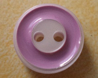 12 mm (739) knob white purple 11 small buttons