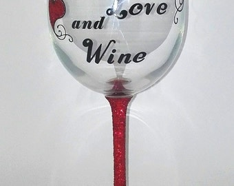 Large Wine Glass/Gift/For Her
