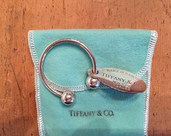 SALE:  Amazing Return to Tiffany & Co. Sterling Silver Key Chain - New!