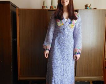 1970s Hippie Maxidress
