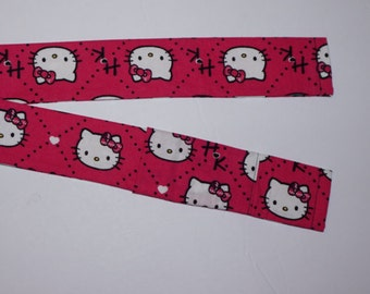 Hello Kitty Camera Strap Cover with pocket for a photographer gift