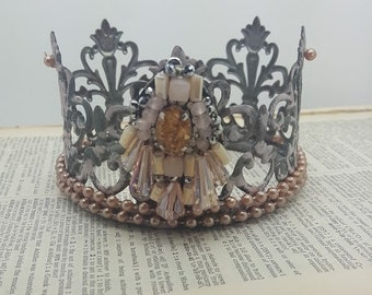 Decorative Embellished Jeweled Crown