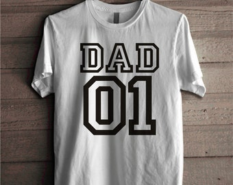 Gifts for Dad, Fathers day ideas T-shirt, Fathers day gift, Fathers day tshirt, Daddy Number one Clothing Style 100% Cotton Outfit