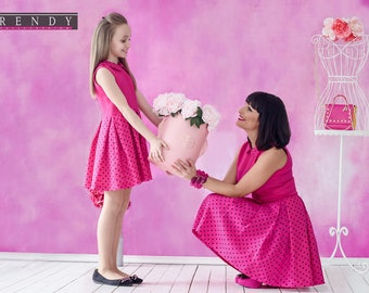 Mother Daughter Matching Dress, Mommy And Me Outfit, Mommy And Me Dress, Holiday Dress, Matching Outfit, Birthday Party Photo Props