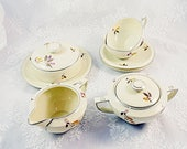 SALE Vintage Art Deco Tea...