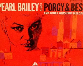Pearl Bailey –Pearl Bailey Sings Porgy and Bess And Other Gershwin Melodies 1959 ( LP, Album, Vinyl Record )Musical
