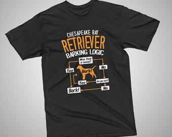 Chesapeake Bay Retriever Barking Logic T-shirt