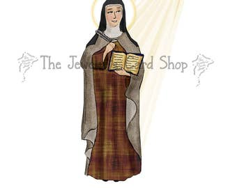 St. Teresa of Avila Greeting Card- Blank Inside