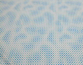 Ombre Dots-Teal Cotton Fabric from Quilting Treasures