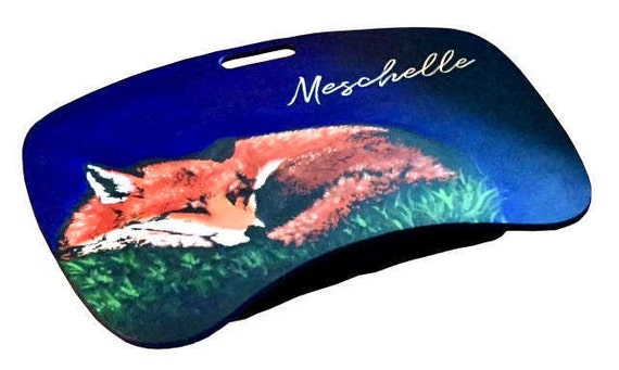Fox Lap Desk With Pillow // Personalized // Cute // Adorable
