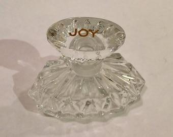 Baccarat Joy Perfume by Jean Patou, Ca: 1960s.