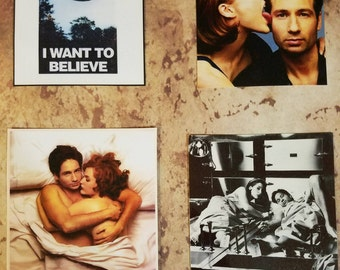 X-Files Magnets
