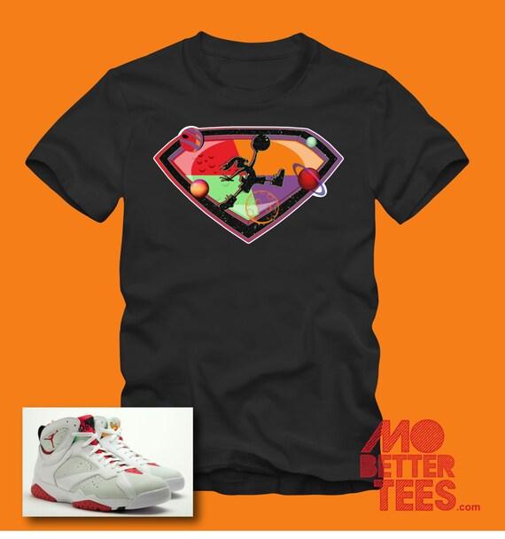 Michael Jordan hare 7s black t-shirt chicago bulls dream team space jam