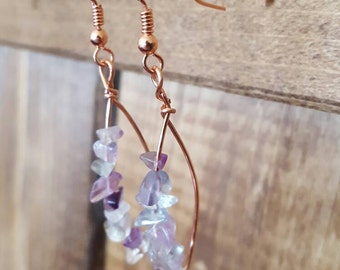 Liv flourite earrings