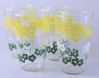 Hibiscus juice glasses