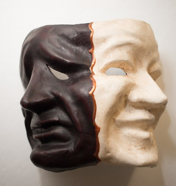 Tragedy and Comedy mask