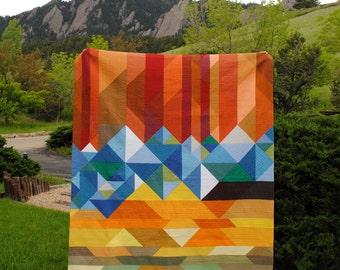 Welcome to Colorful Colorado - PDF Quilt Pattern