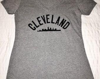 Cleveland Skyline, Cleveland Shirt, Cleveland Skyline Shirt, CLE