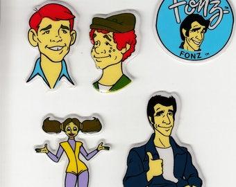 The Fonz Happy Days Stickers