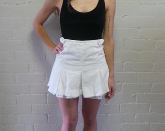 White Shorty Skirt