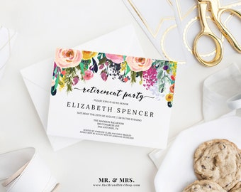 Retirement party invitations | Etsy