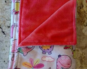 Stroller Blanket, Baby Girl Blanket