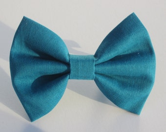 Teal Blue Bow Tie- All Sizes