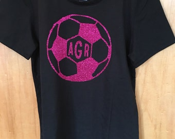 kids Soccer shirt with monogram