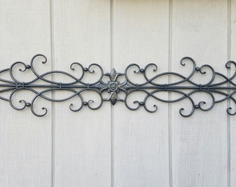 Ornamental Iron Wall Decor Fair Metal Wall Art  Etsy Design Decoration