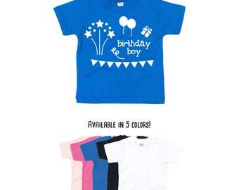 Baby birthday shirt, baby tee, birthday boy shirt, baby shower gift, birthday shirt, baby birthday boy, happy birthday, baby birthday tee