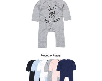 Baby easter bodysuit, happy easter, easter bunny bodysuit, cute bunny bodysuit, easter bunny, baby bunny, easter basket, baby easter gift